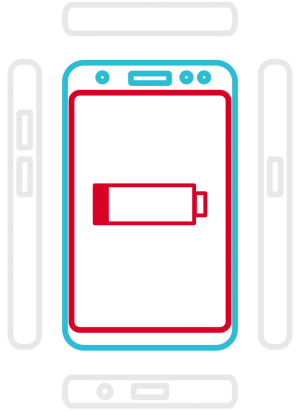 Galaxy S8+ SM-G955F  - Akkuaustausch