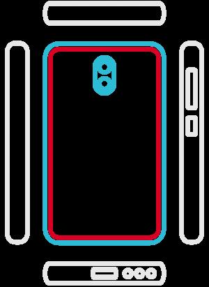 Huawei Mate 20 Lite - Backcover Austausch