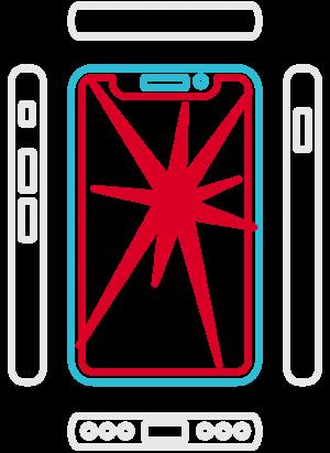 iPhone XS Displayreparatur