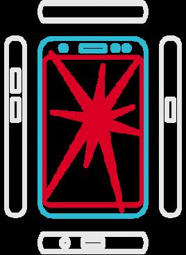 Galaxy S8 SM-G950F - Display Austausch