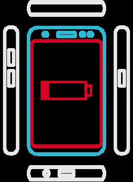 Galaxy S8 SM-G950F  - Akkuaustausch