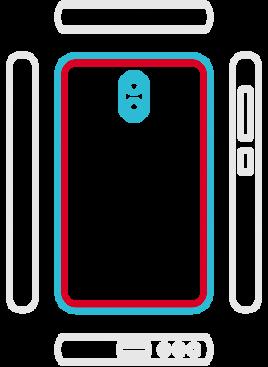 Huawei Mate 10 Lite - Backcover Austausch