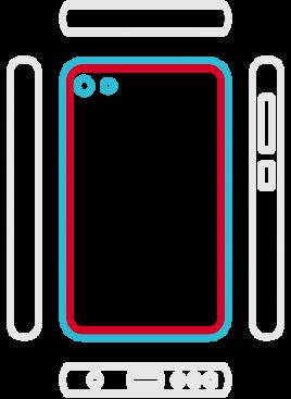 Huawei P10 Lite - Backcover Austausch