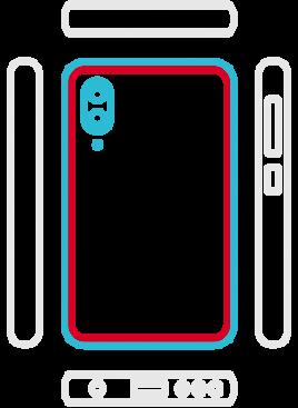 Huawei P20 Lite - Backcover Austausch