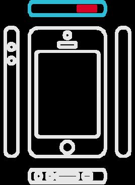 iPhone SE - Ein/Aus-Schalter