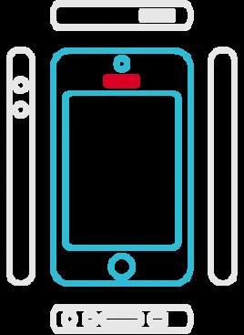 iPhone SE - Hoermuschel (Hörer)