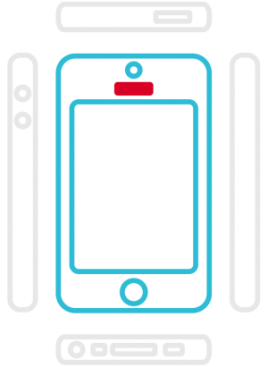iPhone 5C - Hoermuschel (Hörer)
