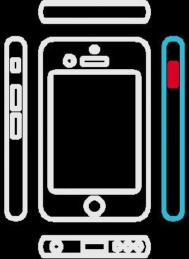 iPhone 6S Plus - Ein/Aus-Schalter