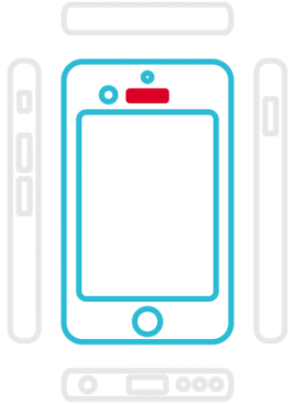 iPhone 6S - Hörmuschel (Hörer)