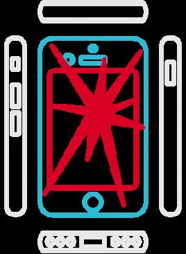 iPhone 8 Displayreparatur Erstausrüsterqualität