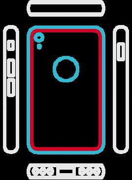 iPhone XR - Backcoverwechseln